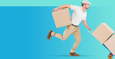 Partner with trusted courier to transport your products.