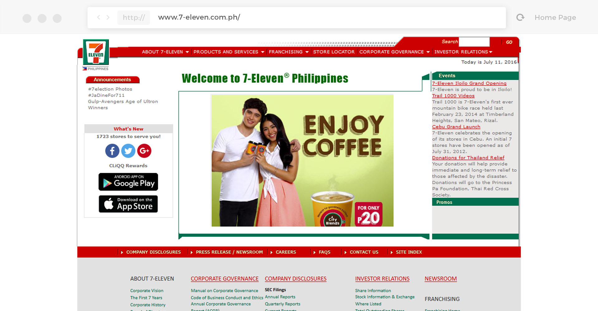 marketing plan of 7 eleven in the philippines