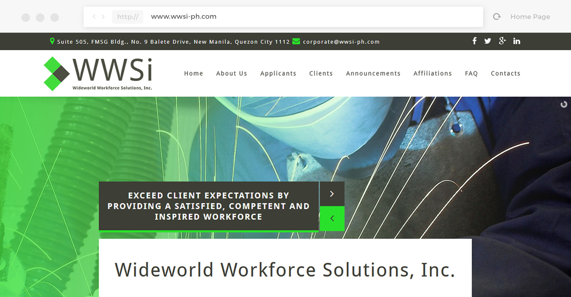 Wideworld Workforce Solutions, Inc.